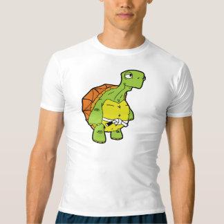 T-shirt Ralentissez votre chemise de compression de petit