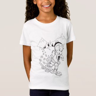 T-Shirt Randonnée riche de Richie - B&W