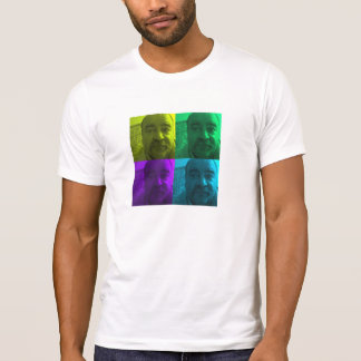 """T-shirt Randy """"le nez"""" dans des Multi-Couleurs vivantes"""
