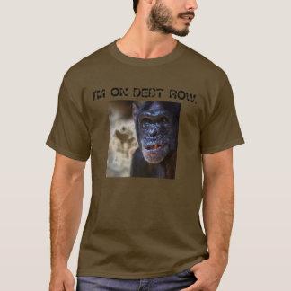 T-shirt RANGÉE de DETTE - customisée