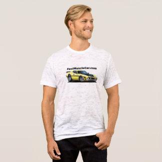 T-shirt rapide de toile de voiture de muscle