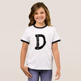 T-shirt Ras-de-cou Chemise personnalisée de Danielle