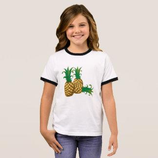 T-shirt Ras-de-cou fruit de trois ananas