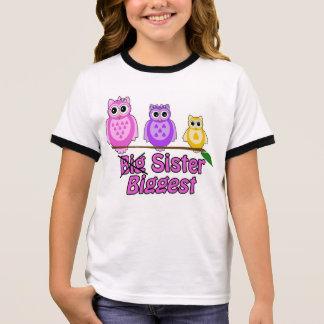 T-shirt Ras-de-cou La plus grande soeur