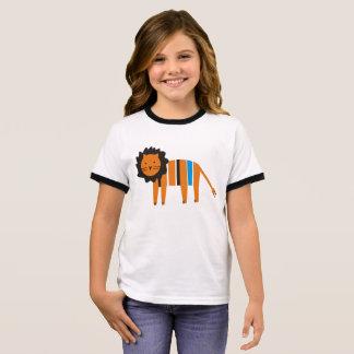 T-shirt Ras-de-cou Lion