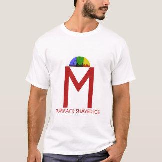 T-shirt rasé de la glace de Murray des hommes