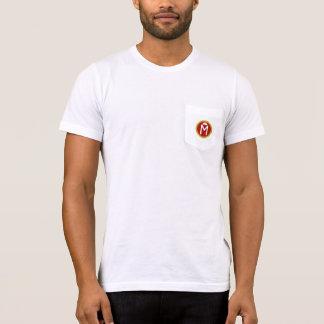 T-shirt rasé de poche de la glace de Murray des