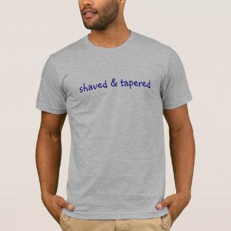 T-shirt rasé et conique