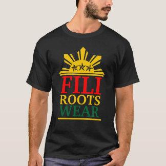 T-shirt rasta audacieux de filirootswear