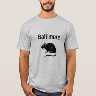 T-shirt RAT de Baltimore --- AFFAIRE avec elle !