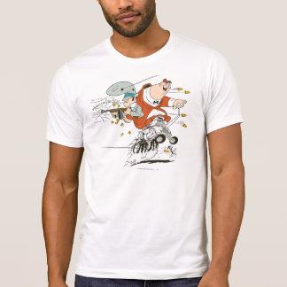 T-shirt Rat rocheux et de Mugsy des fripes de fripes de