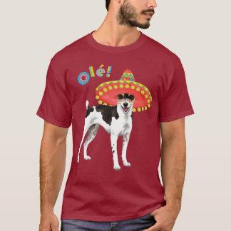 T-shirt Rat terrier de fiesta