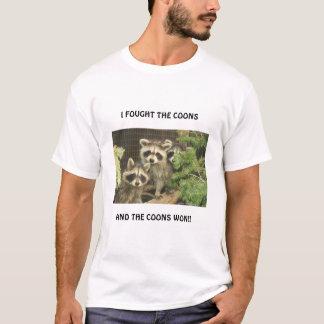 T-shirt Ratons laveurs