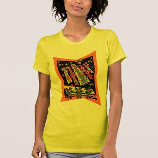 T-shirt Rayons de fleur