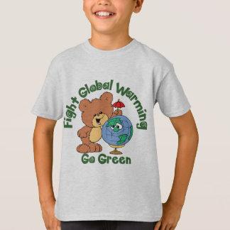 T-shirt Réchauffement climatique de combat