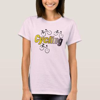 T-shirt Recyclage avec la bicyclette
