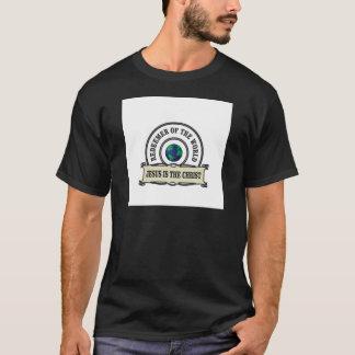 T-shirt rédempteur de seigneur du monde