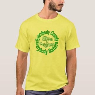 T-shirt Réélisez Keith Ellison pour le congrès Minnesota