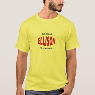 T-shirt Réélisez le congrès 2012 de Keith Ellison USA