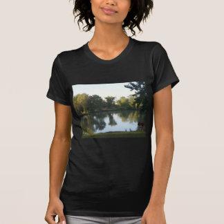 T-shirt Réflexion dans l'étang