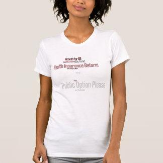 T-shirt Réforme d'assurance maladie
