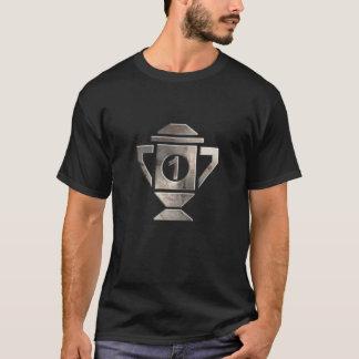 T-shirt Refroidissez le ęr trophée d'endroit
