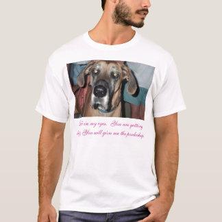 T-shirt Regardez dans mes yeux.