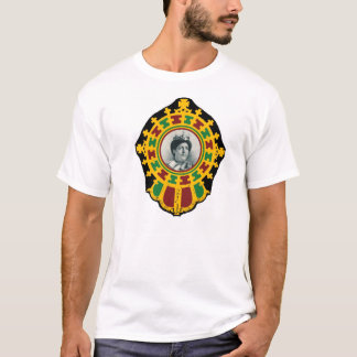 T-shirt Reggae Ethiopie Jamaïque de Haile Selassie Rasta