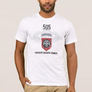 T-shirt Régiment d'infanterie de 505 parachutes