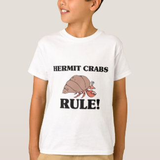 T-shirt Règle de BERNARD L'ERMITE !