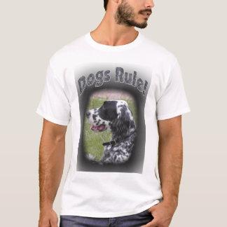T-shirt Règle de chiens