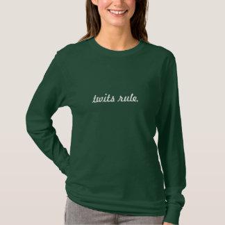 T-shirt règle de crétins