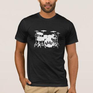 T-shirt réglé de tambour