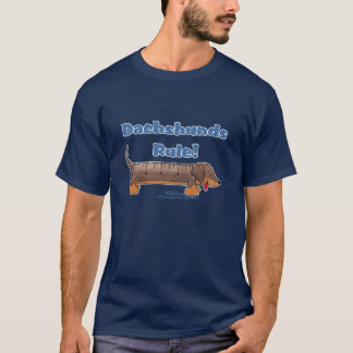 T-shirt Règle de teckels