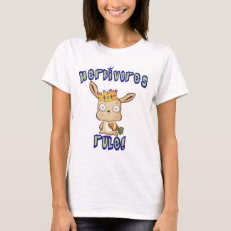 T-shirt Règle d'herbivores