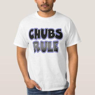 T-shirt Règle potelée gaie de chabots de chasseur