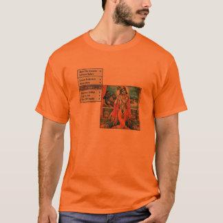 T-shirt Règles de seigneur Krishna !