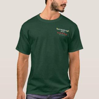 T-shirt Règles du logo w/Wingman d'aile de FU