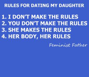 Règles pour la datation d'une féministe
