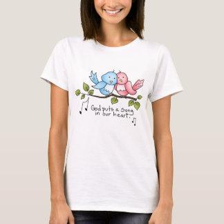 T-shirt religieux de birdie