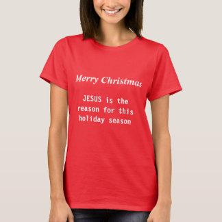 T-shirt religieux de Noël