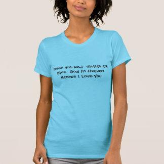 T-shirt religieux exprimant l'amour