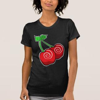 T-shirt Remous de cerise