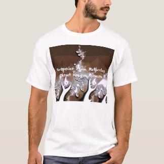 T-shirt Répliques de champignon de tapis de Reticulan