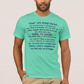 T-shirt Réponses de Danois