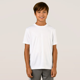 T-Shirt Représentation customisée de Sport-Tek d'enfants