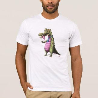 T-shirt Reptile appréciant la conception de Martini sur le