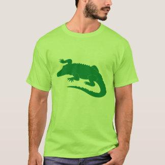 T-shirt Reptile d'alligator d'alligator de crocodile