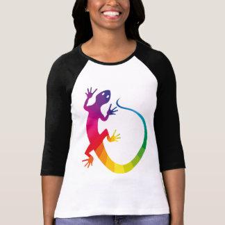 T-shirt Reptile Multicolore