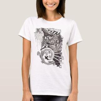 T-shirt Reptiles abstraits